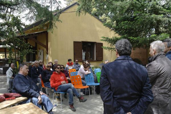 Some Pictures af the informational event held at the VISITOR CENTER ''BOSCO DIFESA GRANDE'' in Gravinia in Puglia