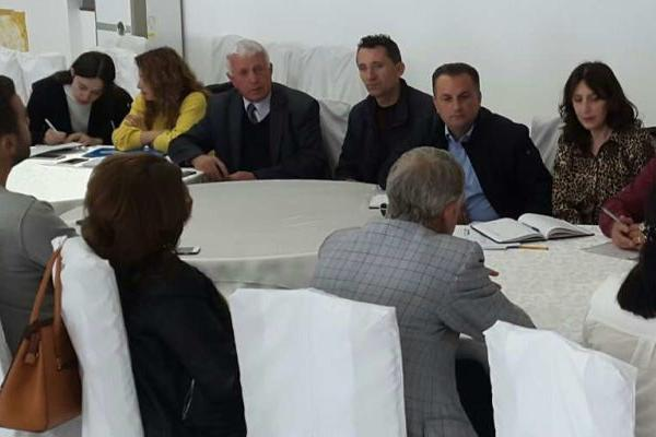 Albania DMO wIth tour operators, representatives of NGOs and associations